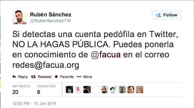 Ruben Sanchez Facua