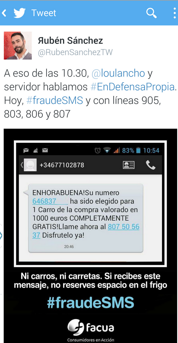 Ruben Sanchez Twitter